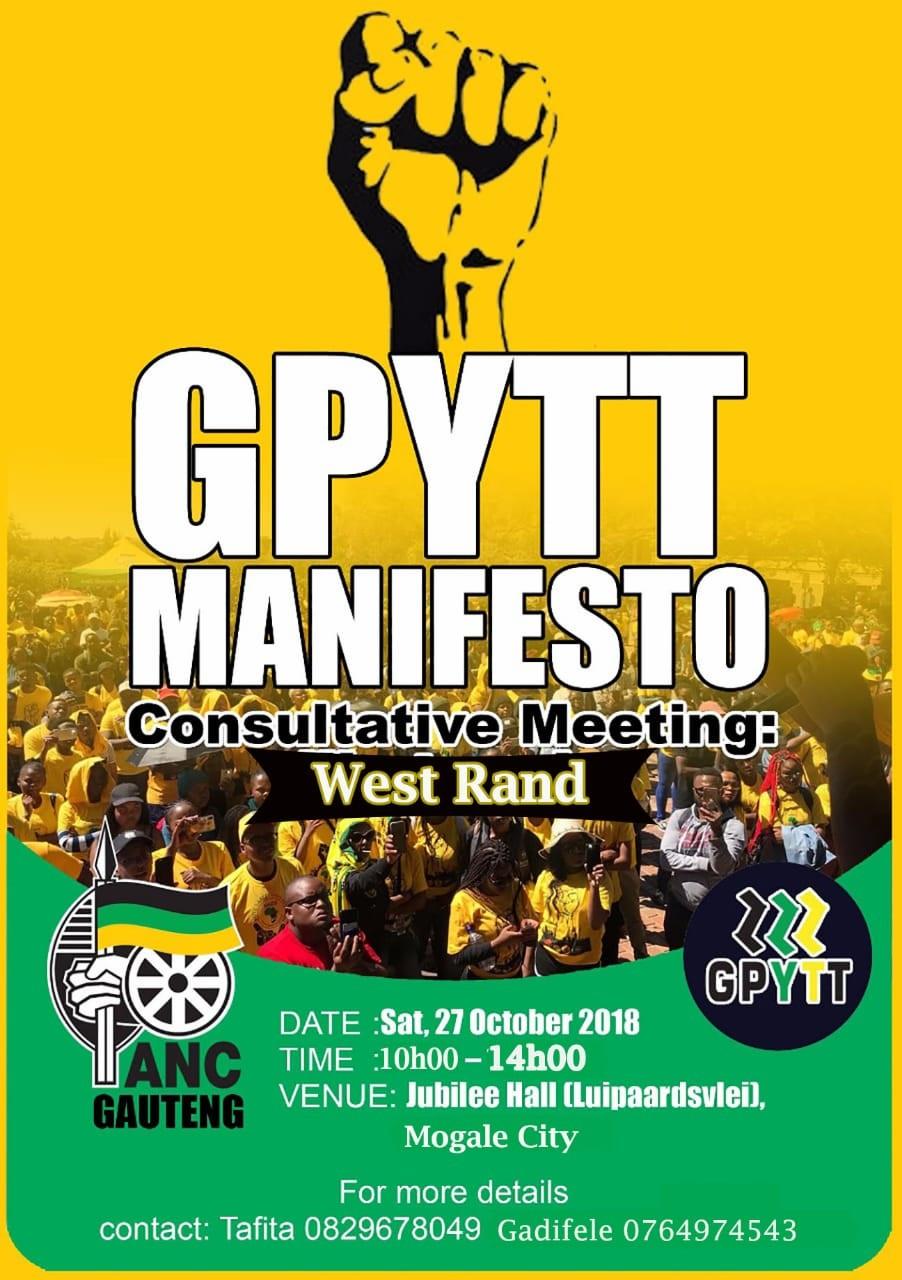 GPYTT Manifesto