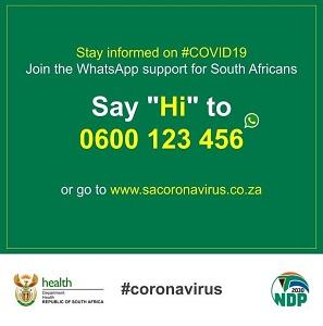 Corona Virus WhatsApp Number