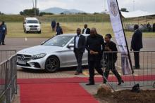 National Deputy Speaker Solomon Lechesa Tsenoli arriving at the SOPA 2020