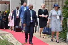 Cde Sochayile Khanyile arriving at the GP SOPA 2020