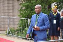 Cde Mpho Bones Modise arriving at SOPA 2020