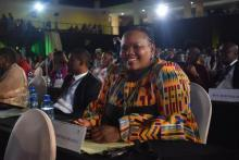 Sizakele Malobane in attendance at the 2020 GP SOPA