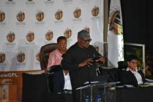 Premier David Makhura delivers the 2020 SOPA